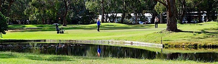 foster golf club lake and holes